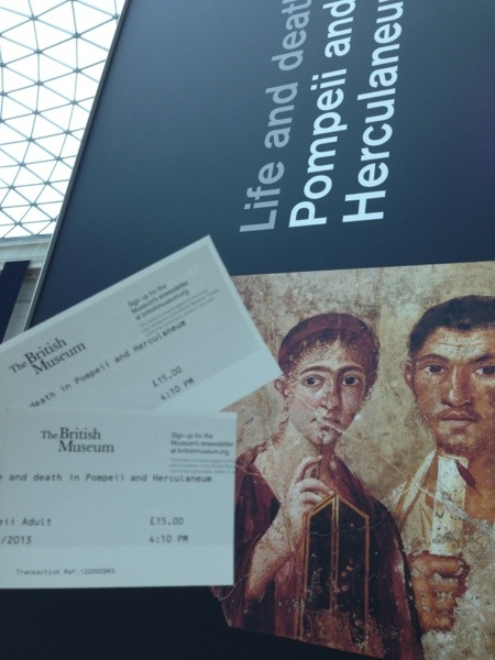 Tickets to the sold-out exhibit.