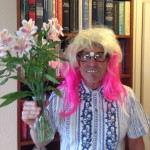 The Idiot is a flower-power nerd for Halloween. (Photo: Liz Chapin)