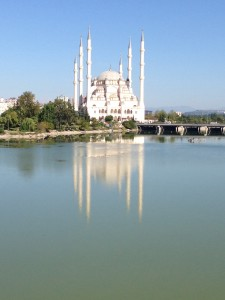 The Sabanci Central Mosque in Adana.