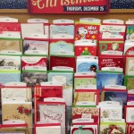 Christmas cards went on sale in this grocery store in Massachusetts well before Thanksgiving (Nov. 27).