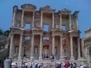 The Library  at Ephesus.