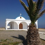 """The pristine chapel in quiet villa-filled Agia Thekla (the summer season starts next month) is followed by a beach for dogs in Agia Napa, one of the best-known party/hotel/beach resorts in Cyprus. Agia means """"holy."""""""