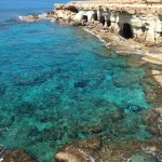 It was easier to explore the sea caves than find the Ayia Napa sea monster while MedTrekking around the wondrous Cape Grecko protected nature park.