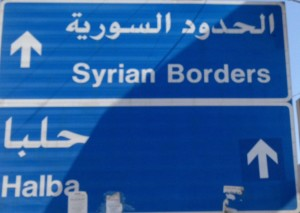 The area between Tripoli and the Syrian border in norther Tripoli is not meant for foreign MedTrekkers, The Idiot was told.