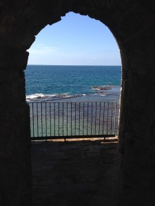 Hungry for a delicious view of the Mediterranean?  Walk around the sea wall in Tyre.