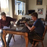 Thanksgiving is not Thanksgiving without a series of father-son Scrabble games. (Photo: Liz Chapin)