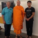 The Idiot joined the Thai monk Phra Piya Piyawajako and Army vet Teddy Photesri, who have launched a treatment program using Middle Way meditation techniques to help temper the effect of PTSD, in Oakland, CA.