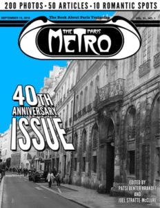 The  includes fifty original anecdotes, memoirs, reflections and vignettes written by former staff members, writers and readers of The Paris Metro, a fortnightly English-language magazine that published sixty-four issues in Paris between June 1976 and December 1978.