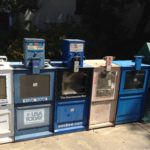 Newsracks are being removed in most US cities due to lack of sales  but Redding, CA, is keep the empty newspaper racks on the streets as part of a local antique roadshow tour.