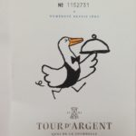 The Idiot first encountered the Tour d'Argent's numbered ducks in 1971 and was at a party celebrating the 1,000,000th. His next goal is to eat the 1,500,000th.