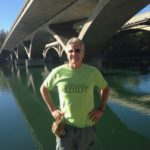 The Idiot hiked on the Sacramento River in both fair weather... (Photo: Lesle Curfman)
