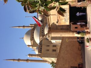 Bidding adieu to Egypt after paying a visit to the Police Antiquities Station at the Cairo Citadel.