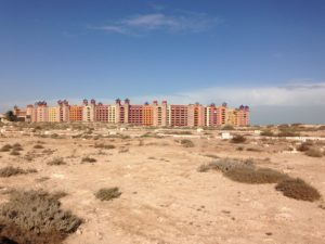 Stumbling upon the open Porto Marina Resort and Spa just before El Alamein was like walking into Oz.